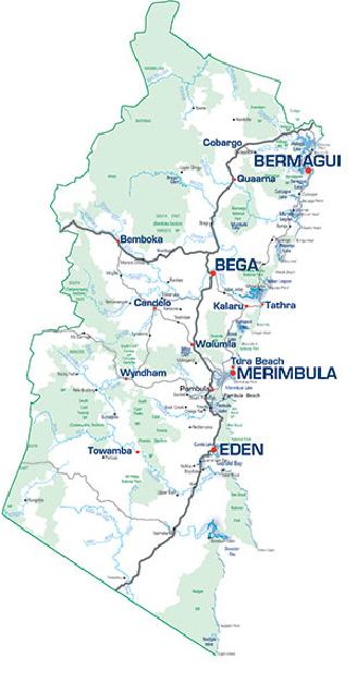 bega-map – Jackaroo 4 Wheel Drive Club on